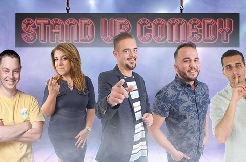 Stand up comedy est snack vacsorával