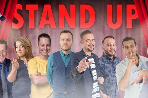 Stand up comedy belépők snack vacsorával