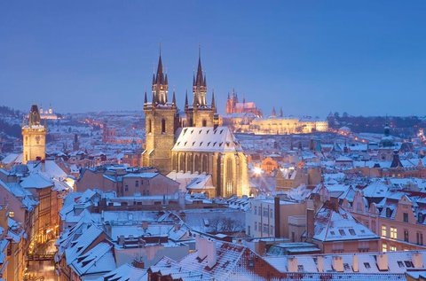 Családi pihenés a cseh fővárosban, Prágában