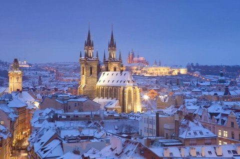 3 napos családi feltöltődés Prágában, hétvégén is
