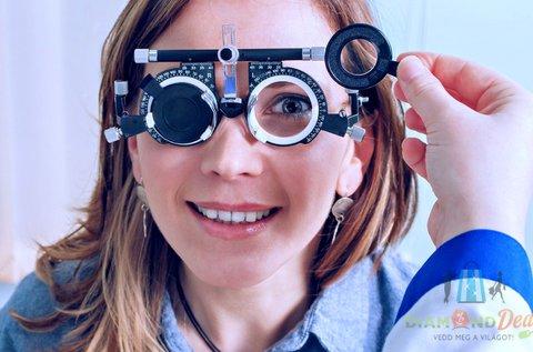 Essilor lencsés komplett szemüveg látásvizsgálattal