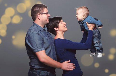 Karácsonyi egyéni, páros vagy családi fotózás