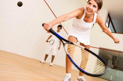 10+1 alkalmas squash pályabérlet