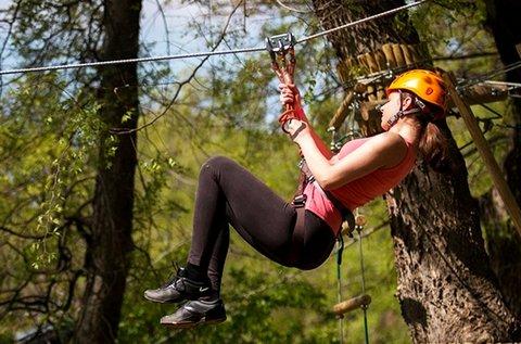 Bókay Kalandpark belépők 3 óra mászással