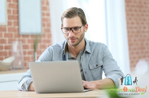 Monitor munkaszemüveg teljes látásvizsgálattal