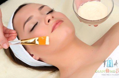 Arctisztító kezelés Ilcsi és Norann kozmetikumokkal