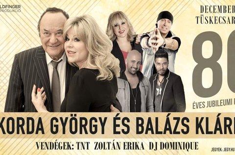 Korda György és Balázs Klári jubileumi koncert