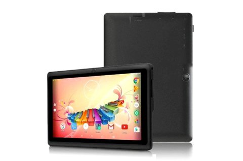 7 colos Android tablet 4 magos processzorral