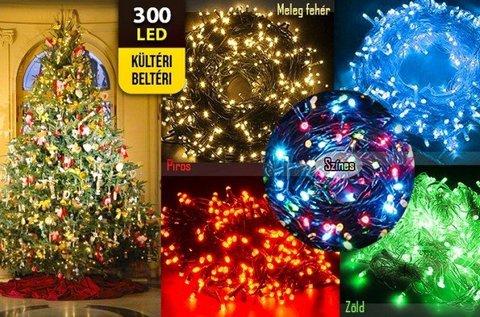 26 m-es karácsonyi égősor 8 funkciós fényjátékkal