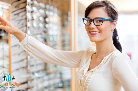 UV-szűrős, vékonyított lencsés szemüveg