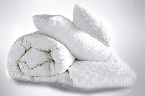 Négyévszakos ágynemű szett antiallergén pamutból