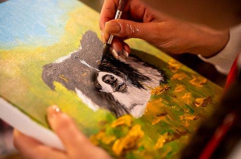 Fesd meg kedvencedet egy feszített festővászonra!