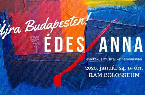 Édes Anna musical a RAM Colosseumban