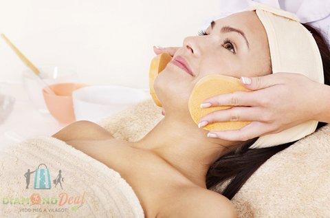 Hagyományos kozmetikai arctisztítás gőzöléssel
