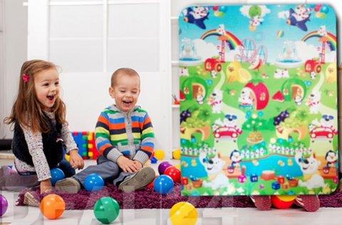 Gyermek játszószőnyeg vízlepergető bevonattal