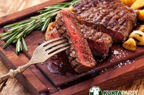 Steakre vágyva főzőkurzus italfogyasztással