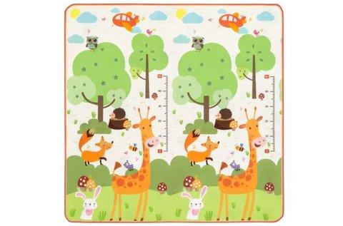 Nagyméretű játszószőnyeg zsiráf grafikával