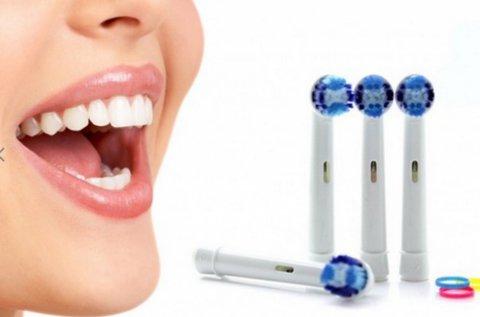 4 db Oral-B kompatibilis elektromos fogkefe fej
