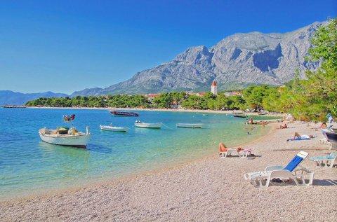 6 napos mesés üdülés Makarska tengerpartján