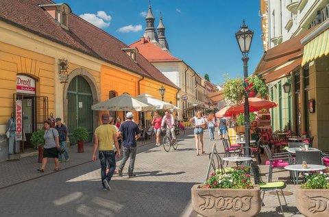 3 napos pihenés júniusig Eger barokk belvárosában