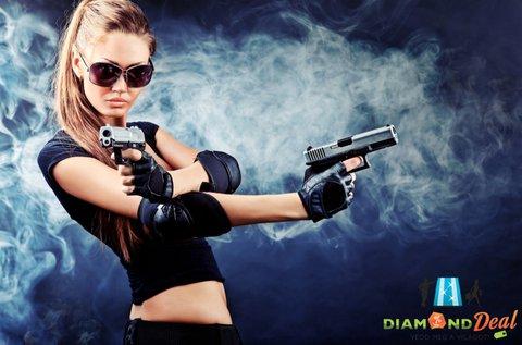 Élménylövészet 4 féle fegyverrel Ráckevén