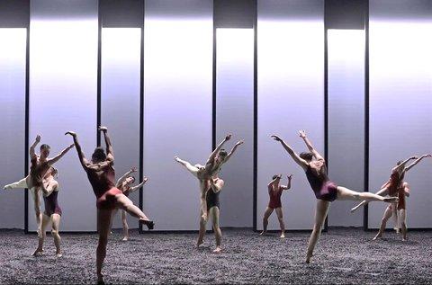 Winterreise című kortárs balettelőadás a Müpában