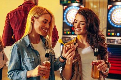2 óra steel dartsozás + 2 pohár Dreher sör vagy üdítő
