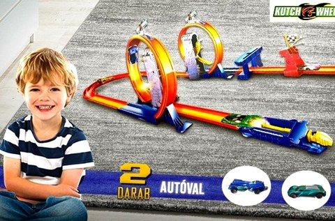Kutch Wheels versenypálya 2 db versenyautóval
