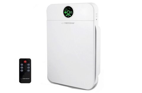 FreshAir HEPA szűrős légtisztító távirányítóval