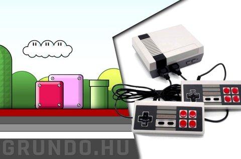Mini retró játékkonzol 500 féle klasszikus játékkal