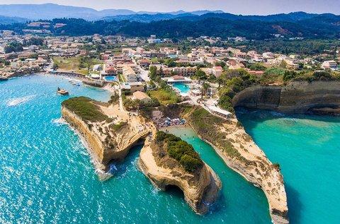 4 napos üdülés a legzöldebb görög szigeten, Korfun