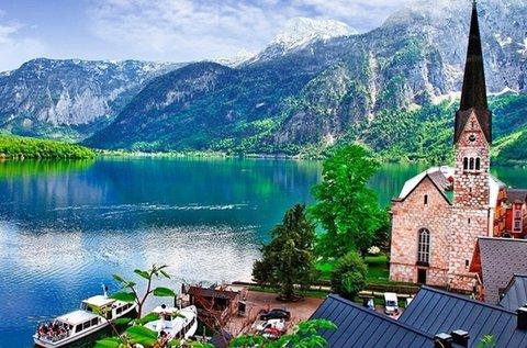 Nárciszfesztivál Ausztriában hallstatti városnézéssel