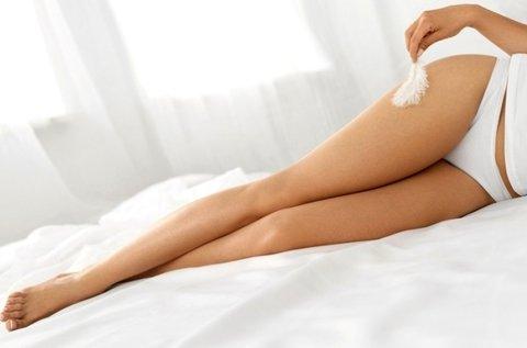 Gyantázás teljes láb, hónalj és női intim területen