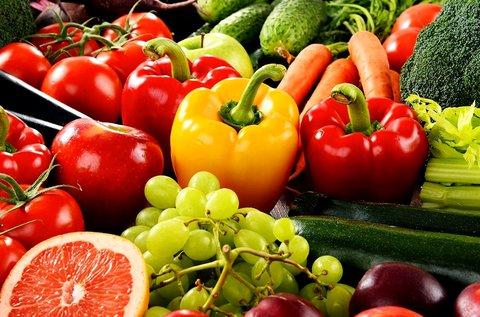 10% kedvezmény friss zöldség-, gyümölcskosárra