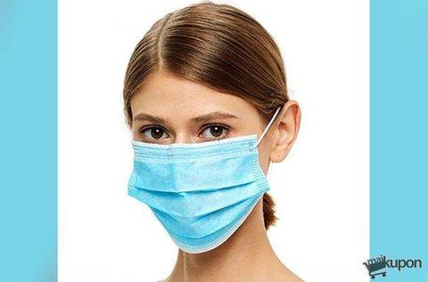 50 db 3 rétegű egészségügyi védőmaszk