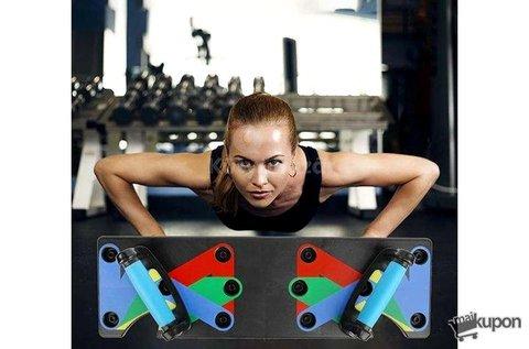 9 az 1-ben színkóddal ellátott fitness tábla