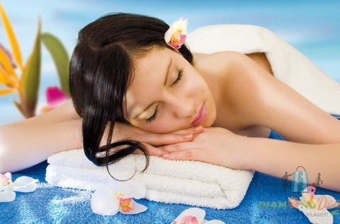 Relaxáló vagy izomlazító masszázs 60 percben