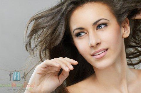 Női hajvágás keratinos hajpakolással