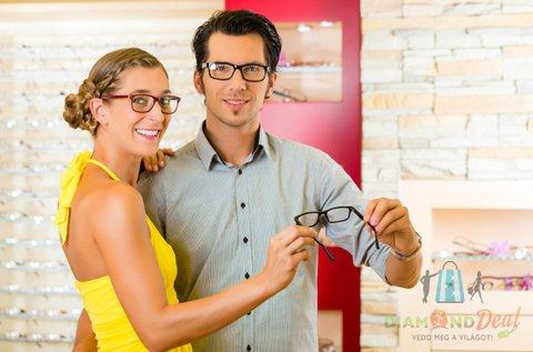 Éles látás egyfókuszú szemüveg készítéssel