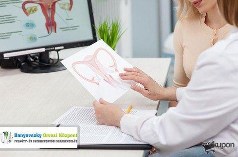 Átfogó nőgyógyászati kivizsgálás citológiával