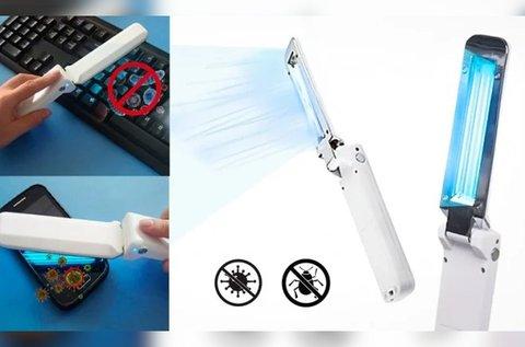 Helytakarékos UV-C sterilizáló lámpa
