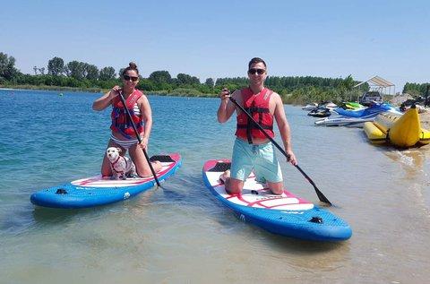 Nyári vizes kaland 4 főnek a Fundy-tavon