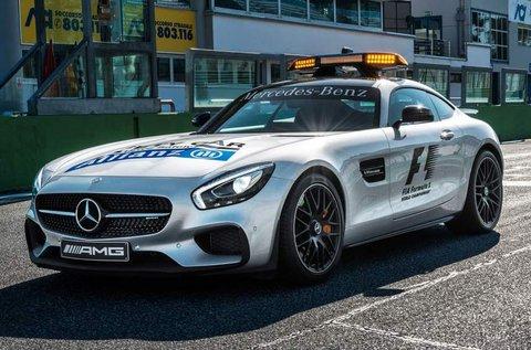 4 körös Mercedes AMG GT S élményvezetés