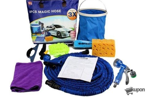 Magic Hose autómosó és locsolótömlő készlet