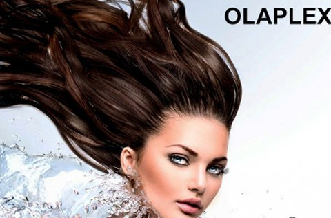 Olaplex hajújraépítés Mac Split hajvágással