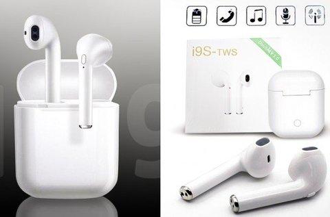 i9S TWS páros Bluetooth headset és fülhallgató