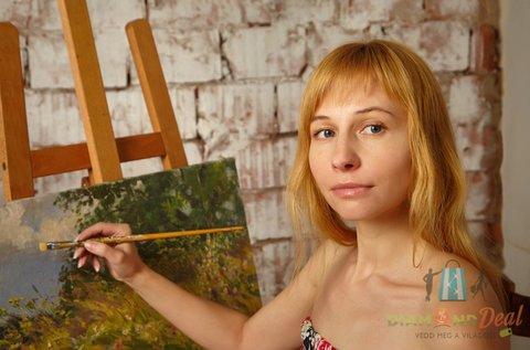 6 órás festő workshop 1 db akrilkép készítésével