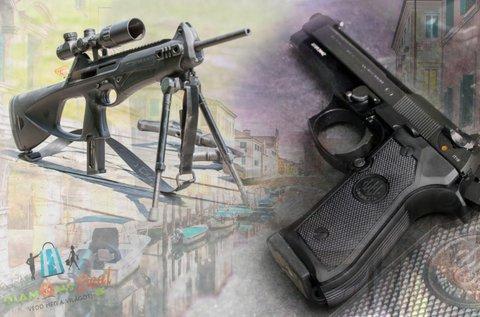 Élménylövészet Beretta és Silma fegyverekkel