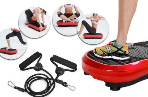Vibrációs tréner edzőgép állítható rezgésszinttel