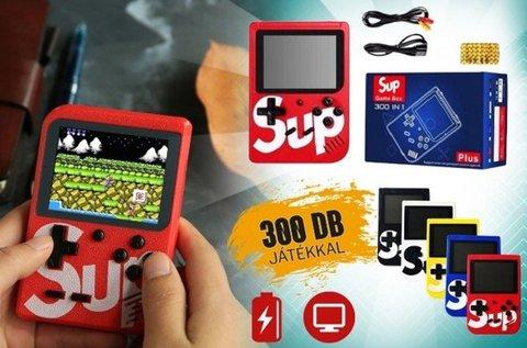 SUP mini játékkonzol 300 beépített játékkal
